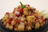 HEALTHY ALOO CHANA CHAAT