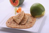 RAW PAPAYA MANGO PARATHA