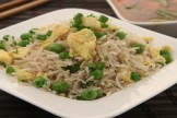 Egg Fried rice with whole garam masalas