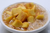 Summer Mango Honey Bowl - Egg  & Oats Omelette Horlicks Oats