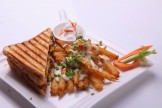FRENCH FRIES SANDWICH
