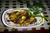 Garlic pepper vineger fish fry