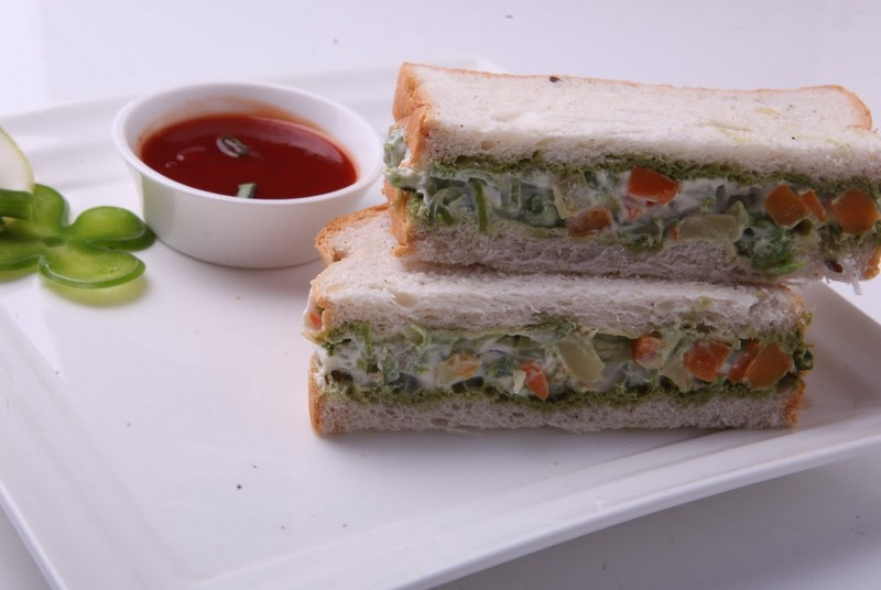 Mix Veg Sandwich