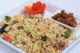 DRY UPMA WITH CAULIFLOWER