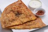 Boiled Egg Pepper Paratha