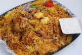 Full Chicken Dum Biryani Hyderabadi