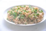 Chinese style fried rice with peas