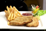 How to Make Crumb Fried Fish And Chips with Philips Airfryer by VahChef