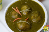 SAAG MUSHROOMS CURRY