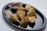 CHICKEN BABY CORN SAMOSA